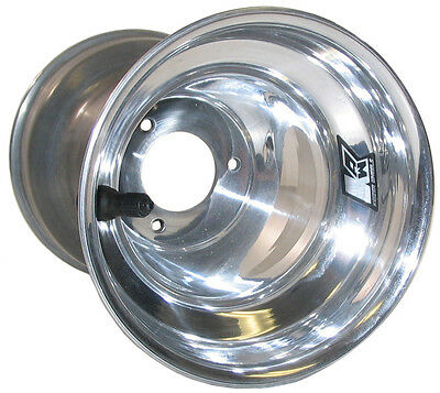 "KEIZER ALUMINUM WHEEL,KW2 KARTING,6x10"",4"",GO KART,POLISHED,ENDURO,SPEEDWAY KART"
