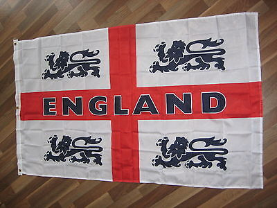 England flag Flags 4 Lions St George. 5 x 3
