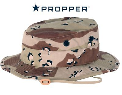 Boonie Hat Propper 6 Color Desert Chocolate Chip Camo Ripstop US Mil-Spec c6aa50f5a15