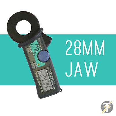 Kewtech Kyoritsu KEW2434 Digital Earth Leakage Clamp Meter 0.1 mA Resolution