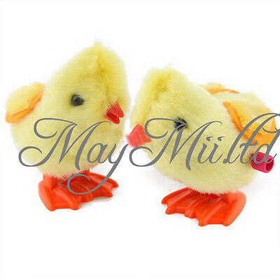 Vintage Superior  Cute Lovely Small Jumping Chicken Toy Children Kids Toy  I
