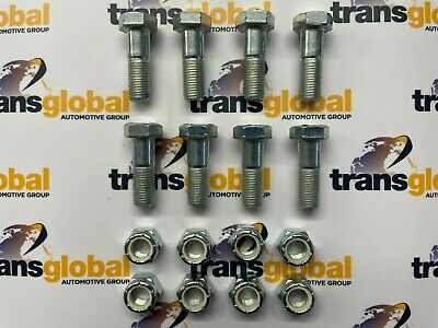 Land Rover Defender 90, 110, 127, 130 Propshaft Nuts & Bolts x8 - Bearmach Brand