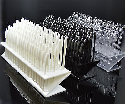 Colour Pops Nail Art Tips Sticks Display Stand 100 Tips, In 3 Colours