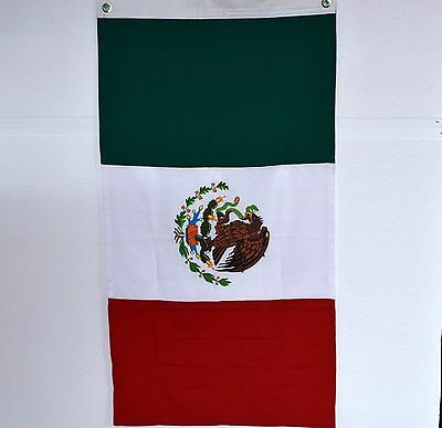 MEXICO FLAG with 2 groomets