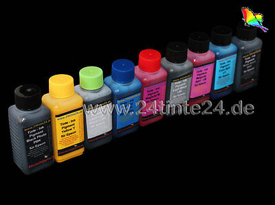 Non oem 9x 100ml 900 ml Pigment Tinte Refill Ink for R3000 R 3000 Epson T0579 x9