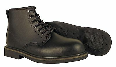 Men's Safety Toe Brown Leather Work Boot (Brand New)