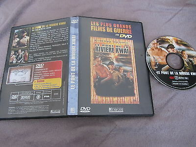 Le pont de la rivière Kwai de David Lean avec William Holden, DVD, Guerre