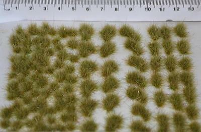 Natural shaped Static Grass tufts and diorama Elements - Model scenery