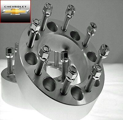 2 Pc 2011-2018 CHEVY HD 2500 8x180m WHEEL SPACER ADAPTERS 2.00 Inch # 8180E1415