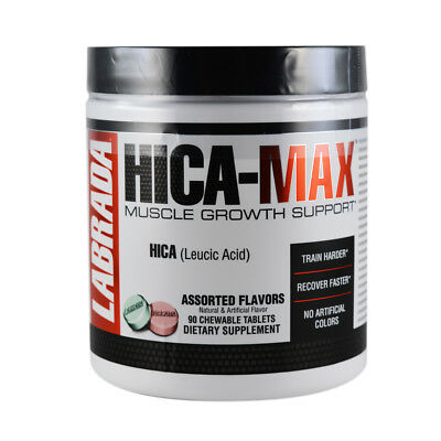 Labrada HICA MAX Muscle Growth Stimulator 90 Chewable Tablets - BRAND NEW