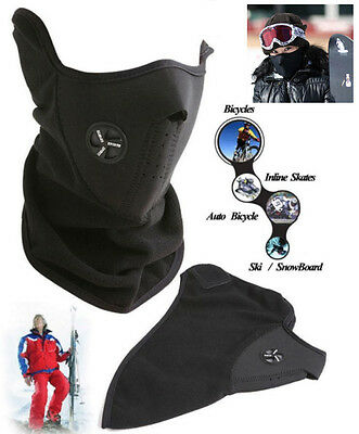 Bike Motorcycle Ski Snowboard Sport Fleece Neck Winter Warmer Face Mask Harley
