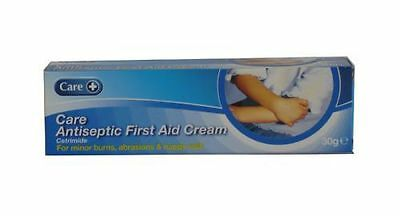 Care Antiseptic First Aid Cream 30g - For Minor Burns, Abrasions & Nappy Rash