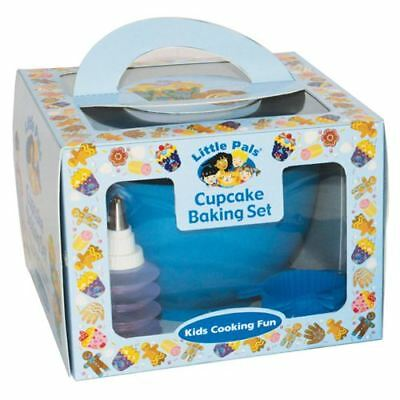 Little Pals Cupcake Baking  Set - Age 3+ Kids Chiildrens Cooking