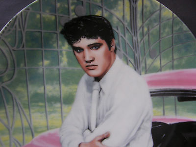 Elvis Presley Limited Edition Collector's Plate No.4162B