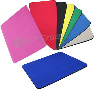 Fabric Mouse Mat Pad High Quality 5mm Thick Non Slip Foam 25cm x 22cm