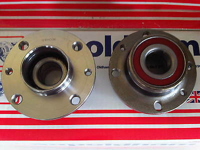 FIAT BRAVA BRAVO MAREA PUNTO 1.2 1.4 1.6 2x REAR WHEEL BEARINGS NON-ABS 1993-05