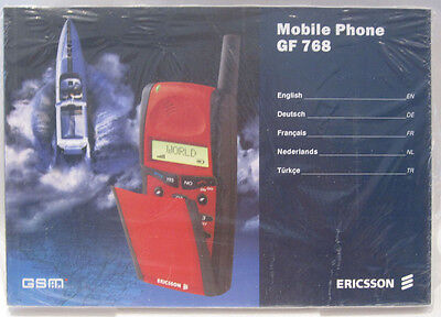 ERICSSON GF 768  Bedienungsanleitung manuel english deutsch français dutch türk