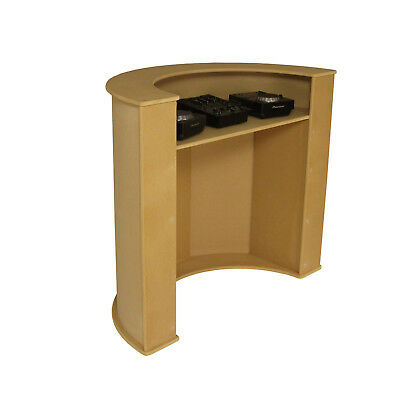 DJ Booth Standing Desk for CDJ's & Mixer Pubs & Clubs - Kernow Carpentry (DB2)