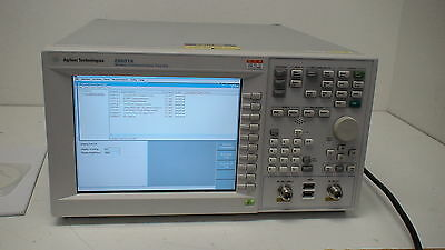Agilent E6601A  Wireless Communications Test Set (380 to 2700 MHz) with options