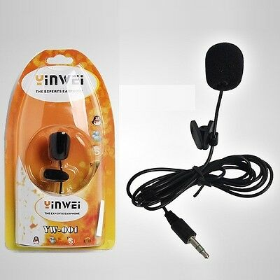 YW-001 Clip Microphone Multymedia For PC MD Voice Recorder