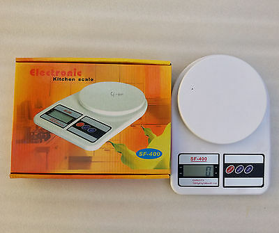 LCD Digital Electric Kitchen Weighing Scales Postal Parcel Food Weight Diet 7Kg