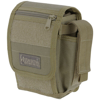 Maxpedition H-1 Army Waistpack Hiking Camping Molle Pouch Travel Belt Pack Khaki