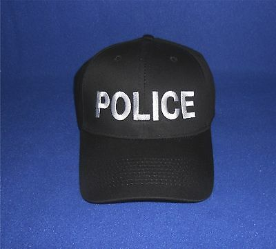 POLICE  Ball Cap Security, Law Enforcement Embroidered