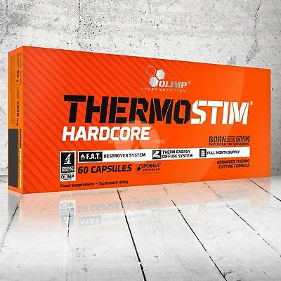 Olimp Thermo Stim Hardcore Fat Burner Lose Weight Slimming Diet