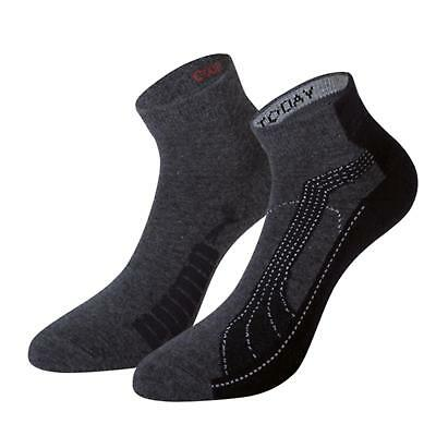 PUMA Sports Socks UK 2.5-5 / EU 35-38 FTPA Quarter Trainer Socks (2 Pair Pack)
