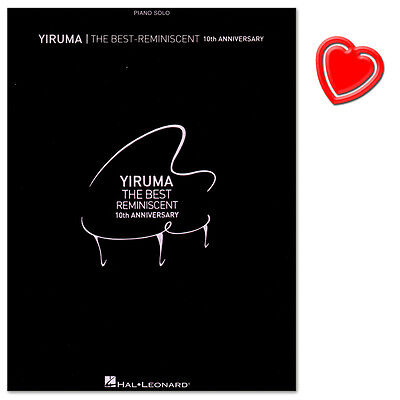 Yiruma - The Best: of Reminiscent 10th Anniversary + Piano-Bleistift HL00123826