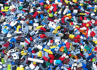 1000 Small Lego Pieces FROM HUGE LOT- Tiny Bricks Custom Parts CLEANED/SANITIZED