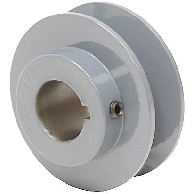 "2.45"" Diameter 3/4"" Bore 1 Groove V-Belt Pulley 1-Bk24-C"
