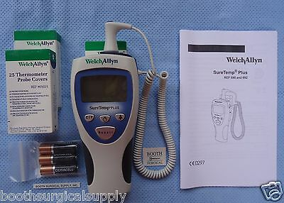 Welch Allyn 01692-101Vg Suretemp #692 Thermometer With 4' Oral Probe-All Used
