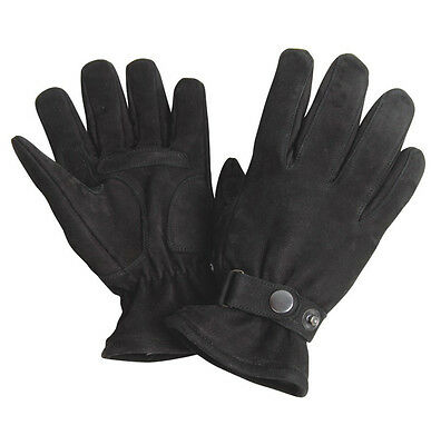 Motorcycle Winter Warm Leather Gloves A Grade Genuine Leather Warm Winter Gloves