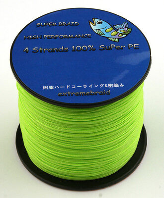 Green 6 10 20 30 40 50 to 100lb SPECTRA 100M 300M 500M 1000M  FISHING BRAID LINE