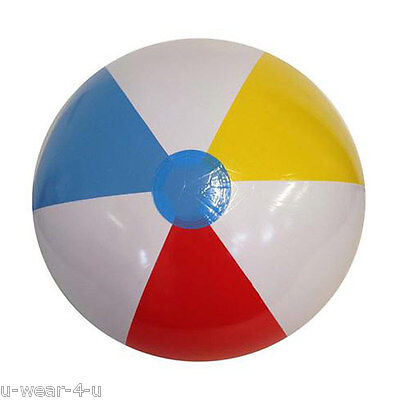 ADULTS KIDS BRIGHT INFLATABLE BEACH BALL POOL TOYS HOLIDAY SUMMER FLOAT LARGE