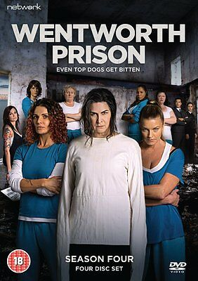 Wentworth Prison: Complete Series 4 - DVD NEW & SEALED (4 Discs) (season/fourth)