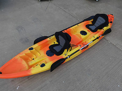 Sit On Top Galaxy Tandem 2 + 1 Kayak - Various Colours Available