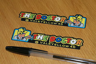 "Rossi ""THE DOCTOR"" Screen Decals 2014"