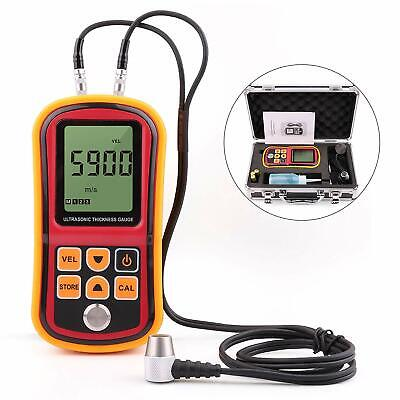 Digital GM100 Ultrasonic Wall Steel Metal Thickness Gauge Meter Tester 1.2~220mm