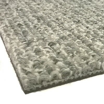 DESSO Contract CARPET TILES Reclaim Ribs White Grey 9945 Heavy Duty Hard Wearing