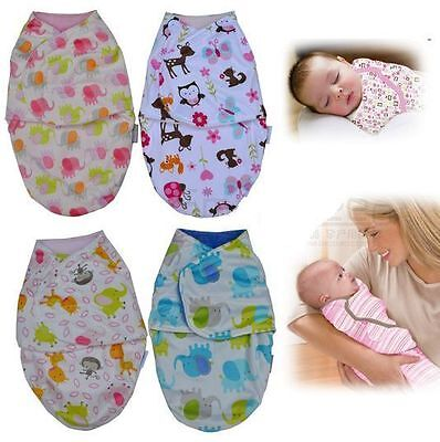 Baby Newborn Soft Fleece Swaddling Wrap Blanket Pram Crib Basket Boy Girl Unisex