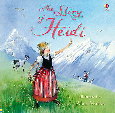 The Story of Heidi Usborne Picture Book Brand New Paperback
