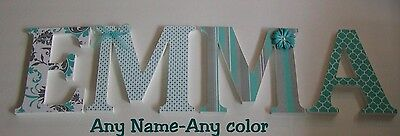 Wood Letters-Nursery Decor- ANY NAME- Custom made to your order or decor