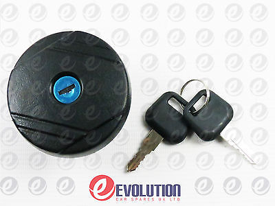 Brand New Locking Fuel Petrol Diesel Cap & Two Keys Ford Transit Mk6 2000-2006