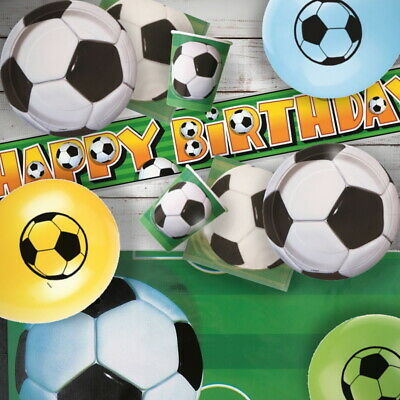 Football Party Supplies Tableware, Balloons, Decorations, Invitations, Confetti