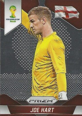 Panini Prizm 2014 World Cup Joe Hart