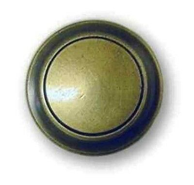 "L-0258 Lancaster Antique English Knob 1-1/4"" Dia."