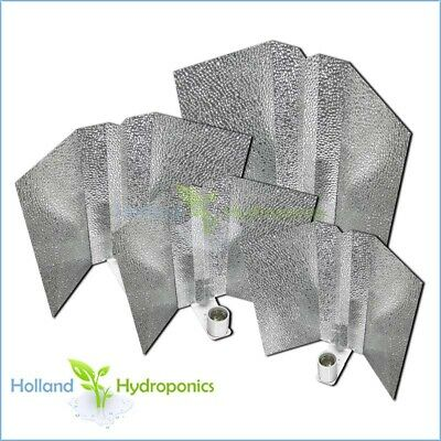 Hydroponics Grow Light Aluminium Bat Wing Reflector Shade Plant Grow Ligh HPS MH