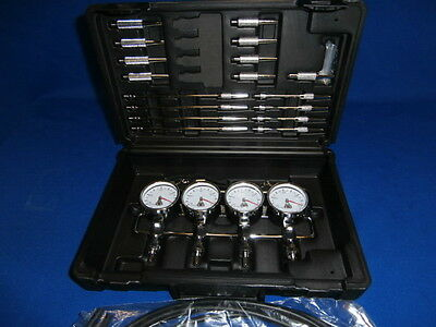 New Professional Motorcycle Carb Sync Gauges Pulse Dampers Synchronizer